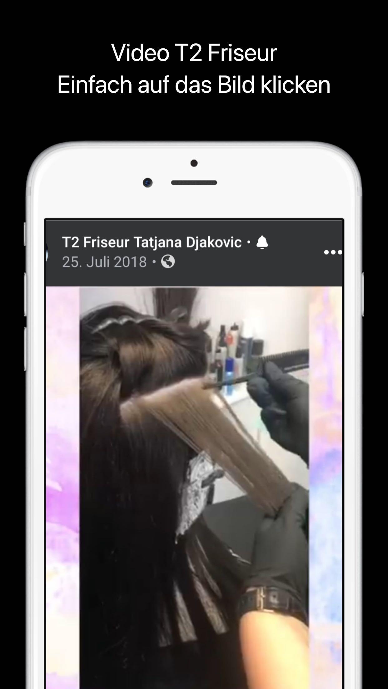 Facebook Video T2 Friseur